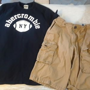 NWOT 14 BOYS ABERCROMBIE BUNDLE LOT